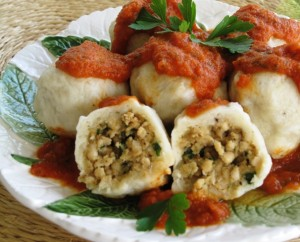 Stuffed Dumplings - Turkey stuffing 3