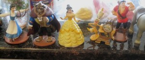 Characters from Beauty and the Beast story