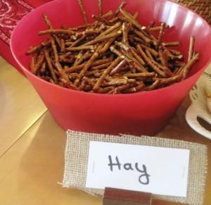 Pretzel Sticks - Hay