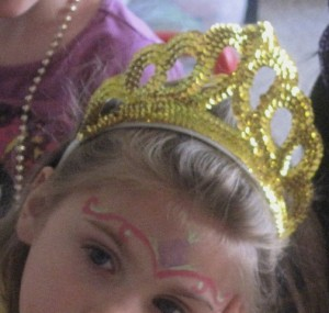 face painting - fit for a princess