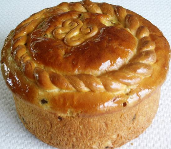 Traditional Easter Bread Ukrainian Paska Recipe Suburban Grandma