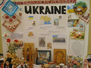 Ukrainian table - close up view 2