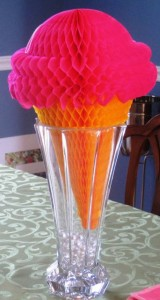 Ice Cream Cone bouquet