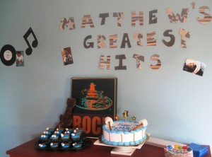 Birthday Cake Display