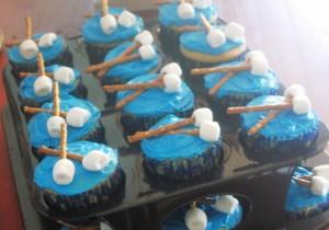Drummer Boy cupcakes