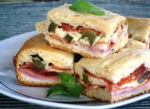 Antipasto Squares – Appetizer or a Brunch Dish