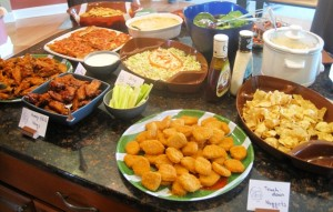 Football party food 3