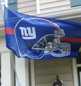 NY Giants Flag