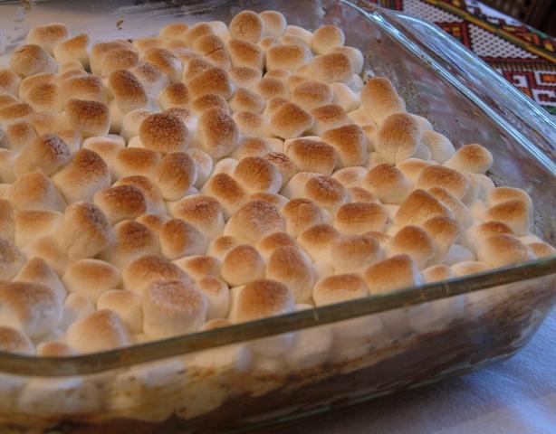 Sweet Potatoes casserole - ready to serve