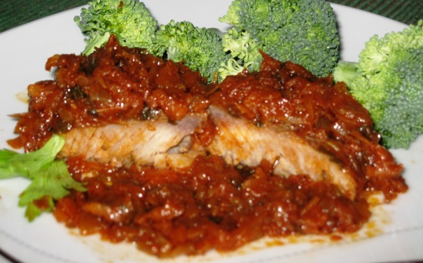 Mahi Mahi in Veggie Casserole – European Recipe