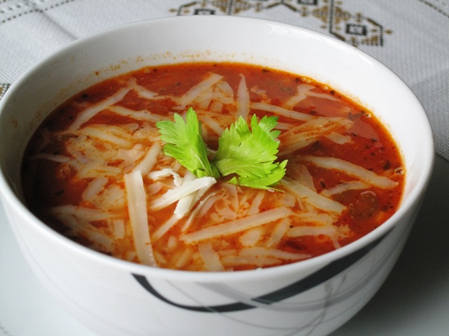Pasta e Fagioli - Low Fat Recipe