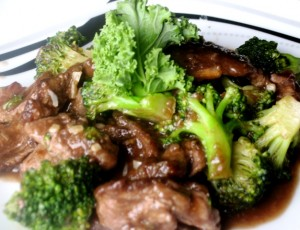 Broccoli and Steak Stri Fry - 3