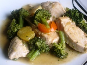 Orange Broccoli Chicken Stir Fry 2