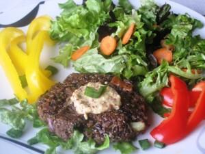 Portobello Mushroom Vegetarian Burger