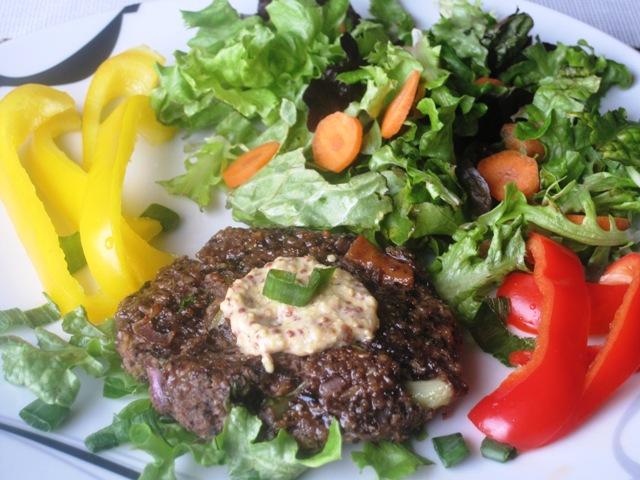 Portobello Veggie Burger – Vegetarian Recipe