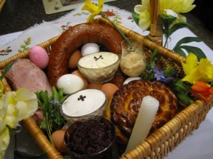 Ukrainian Traditional Easter Basket