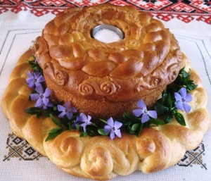 Greeting Bread- Ukrainian Wedding Tradition 1