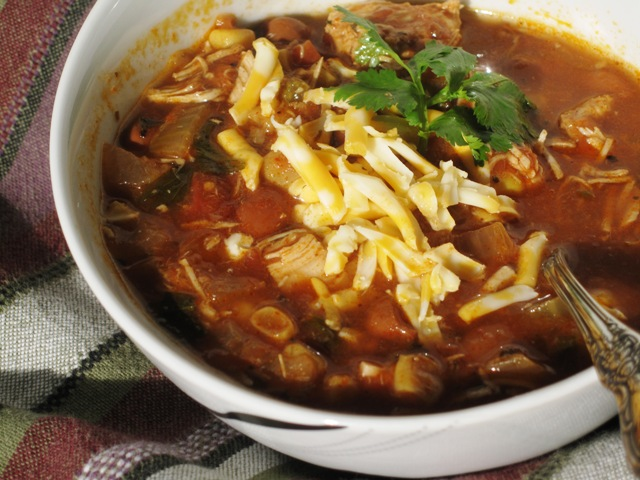 Mexican Chicken Chili – Slow-Cooker Recipe
