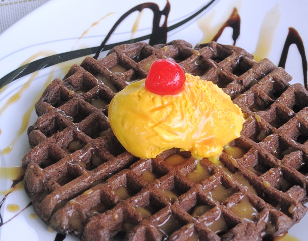 Dark Chocolate Waffles – Recipe