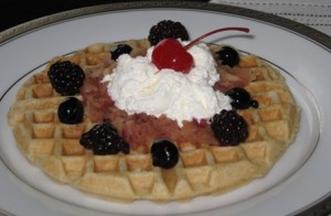 Homemade-Buttermilk Waffles