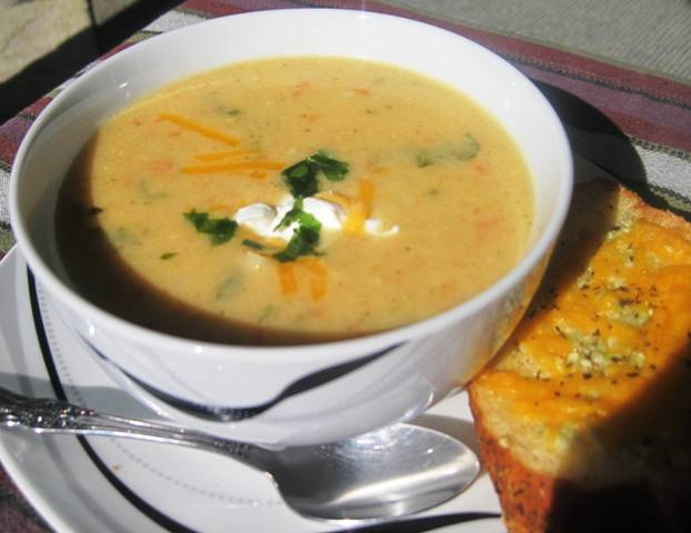 Cream of Cauliflower Soup – Delish recipe