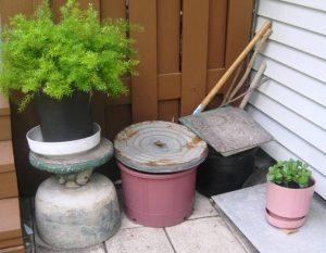 rustic-flower-pots