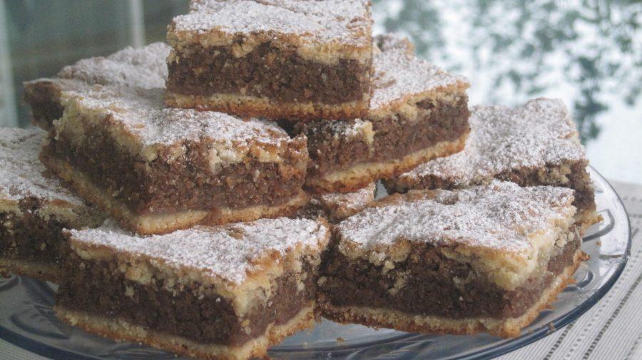 Ukrainian Walnut Sheetcake – Recipe