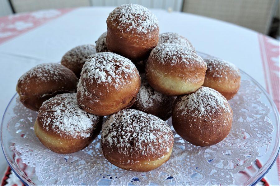 Quick Homemade Donuts (Paczki, Pampushky) – Recipe