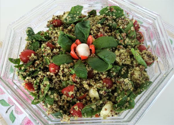 Green Goddess Quinoa Salad  – Recipe