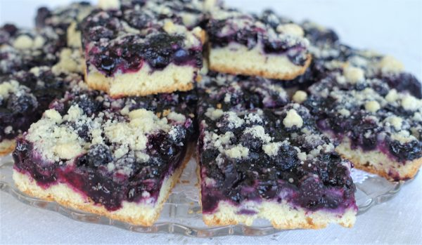 Fabulous Blueberry Sheetcake –  Recipe
