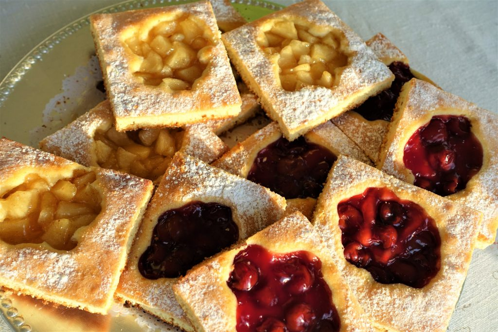 Chubaty Fruit Squares – Ukrainian Recipe