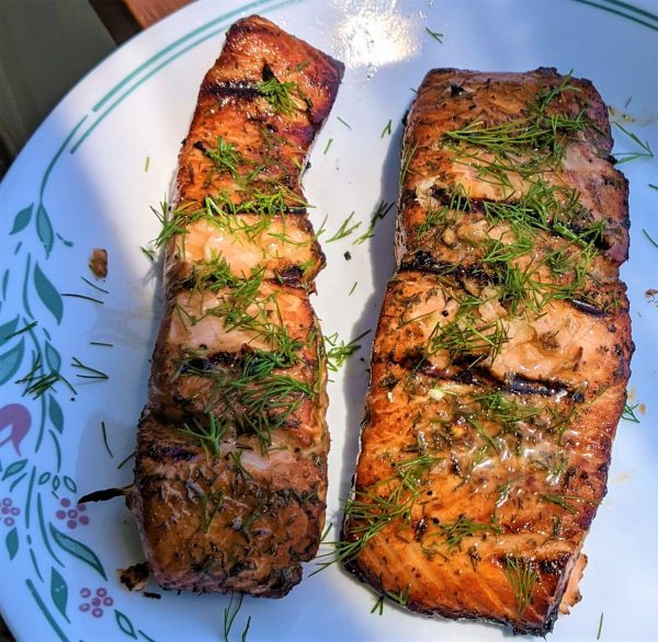 Broiled/Grilled Salmon –  Recipe