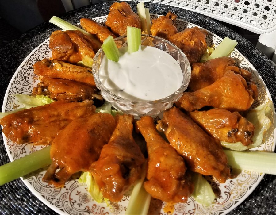 Baked Hot Chicken Wings – Recipe