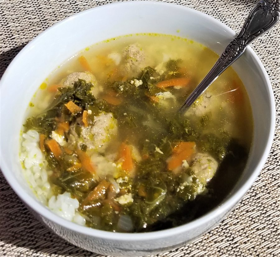 Italian Wedding Soup with Kale – Recipe