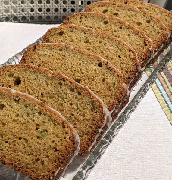 Lemon  Zucchini Bread – Low Sugar Recipe